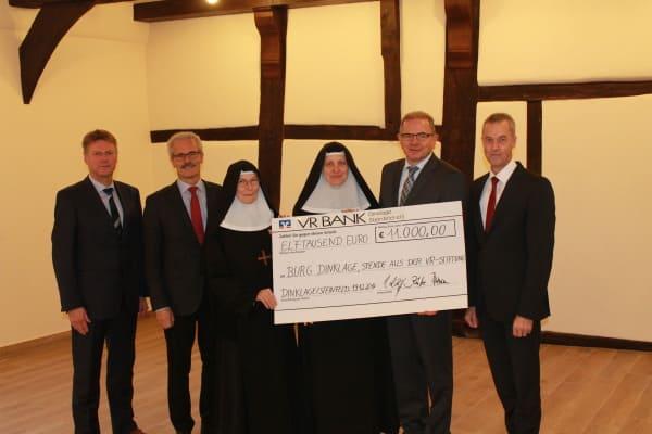 11000 Euro für Benediktinerinnenabtei