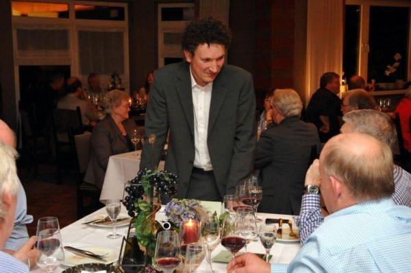 Bücker als Weinexperte beim Bacchusfest