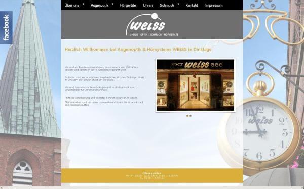 Weiss-Homepage bekommt Facelift