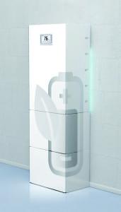 Ansprechendes Design: Die Sonnenbatterie eco. Foto: Sonnenbatterie GmbH