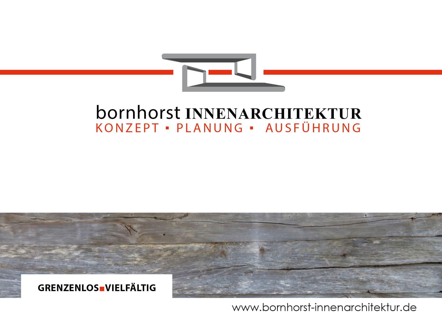 bornhorst INNENARCHITEKTUR — Made in Dinklage