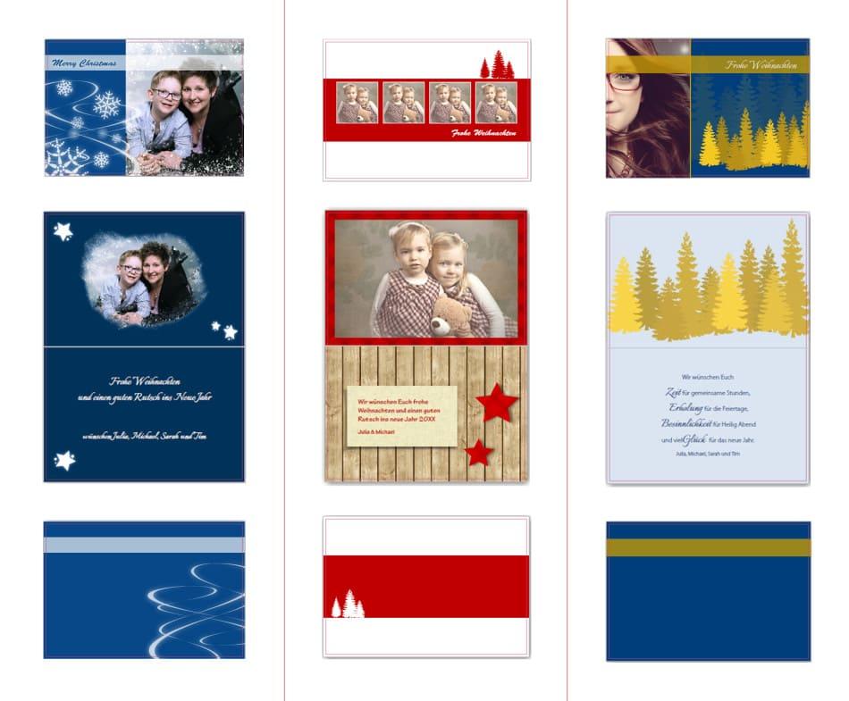 Individuelle Weihnachtskarten.Mit Dem Fotostudio Moosmann Individuelle Weihnachtskarten
