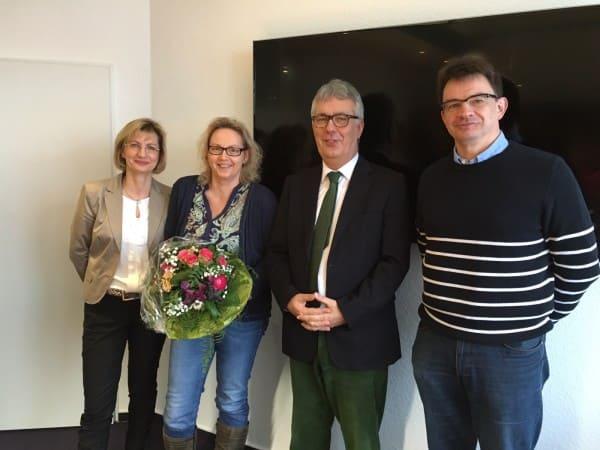Karin Vorbeck feiert bei Bode und Partner Jubiläum