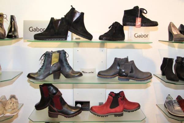 Neue Herbstschuh-Modelle sind im Schuh- und Sporthaus Niemann zu haben