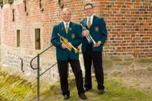 Trompetenregister (v.l.): Wolfgang Bollmann, Stephan Bokern