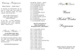 MB Veranstaltungs Flyer 2016/17