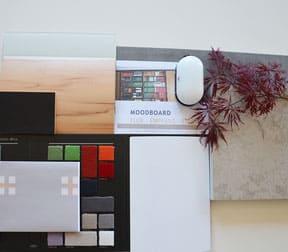 Das Moodboard: Die Materialzusammenstellung für das Projekt. Bild: Bornhorst Innenarchitektur