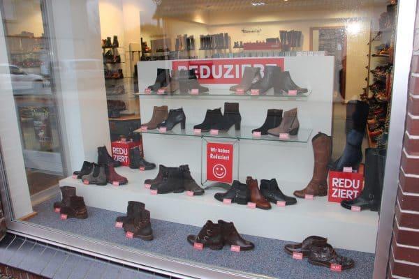 Winterware im Schuh- und Sporthaus Niemann stark reduziert