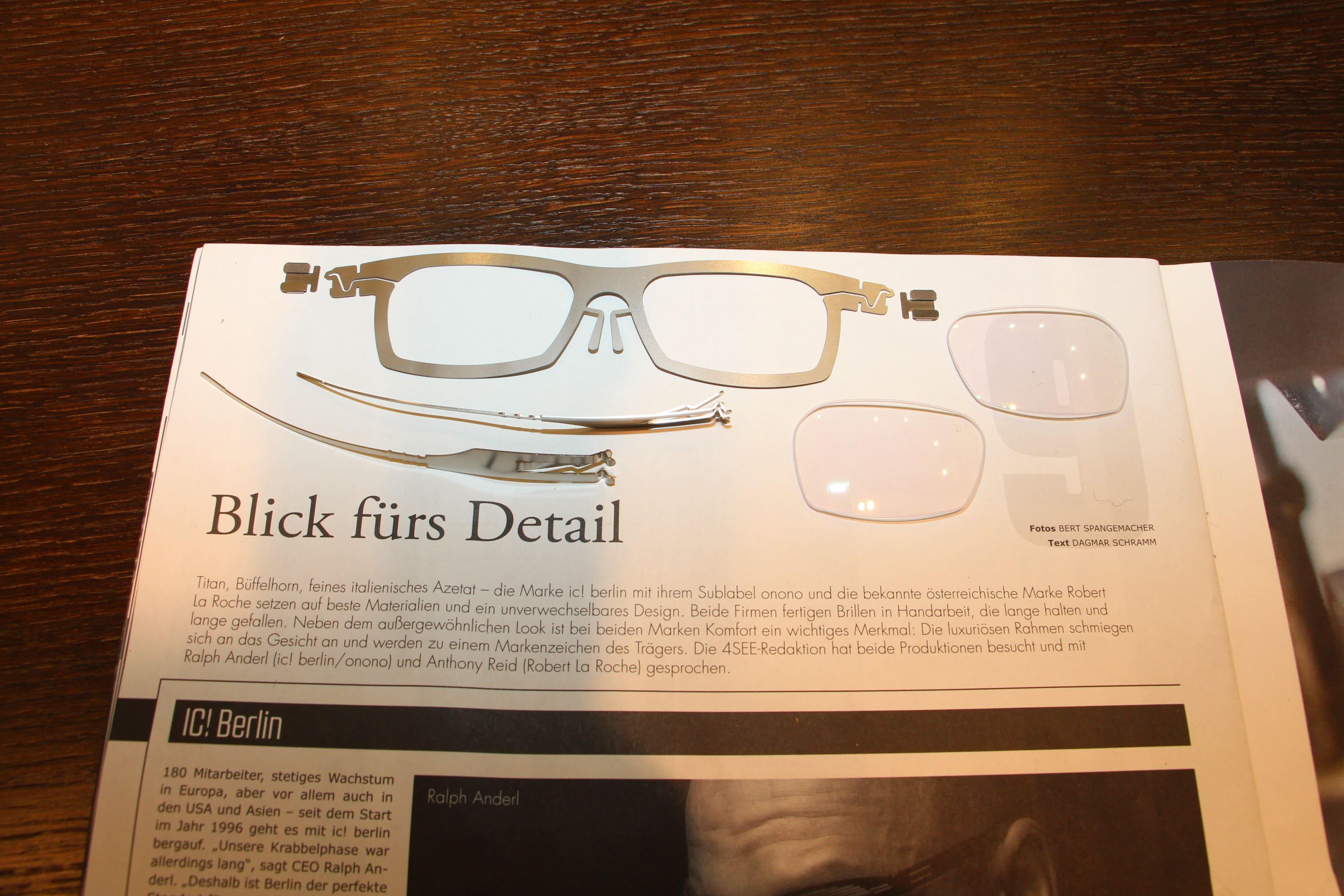 ic! berlin – Federblechbrillen aus der Hauptstadt — Made in Dinklage