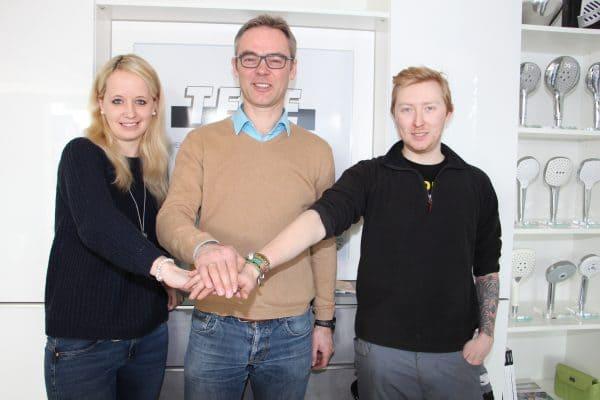 Stephanie Böhmker und Willy Albers verstärken die Karl Tepe GmbH