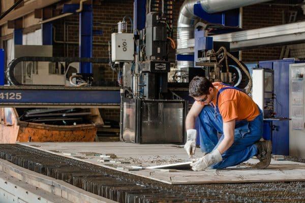 Metallverarbeitung in (über)großen Dimensionen gibt es bei Hilgefort auch als Lohnfertigung