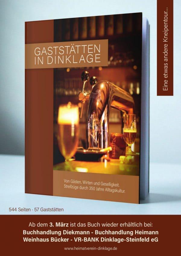 """Beliebtes Werk """"Gaststätten in Dinklage"""" ist ab sofort in zweiter Auflage erhältlich"""