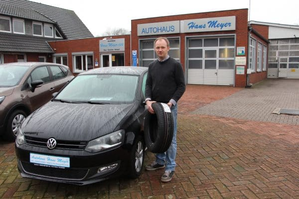 Beim Autohaus Hans Meyer schon jetzt einen Wunschtermin für den Reifenwechsel sichern