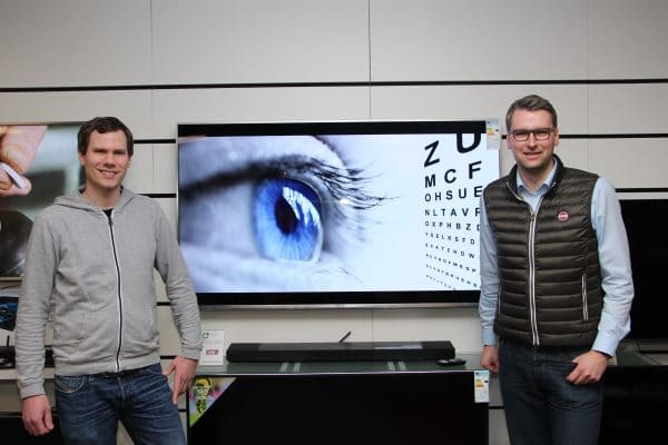 HD-Fernsehen durch brillantes Sehen