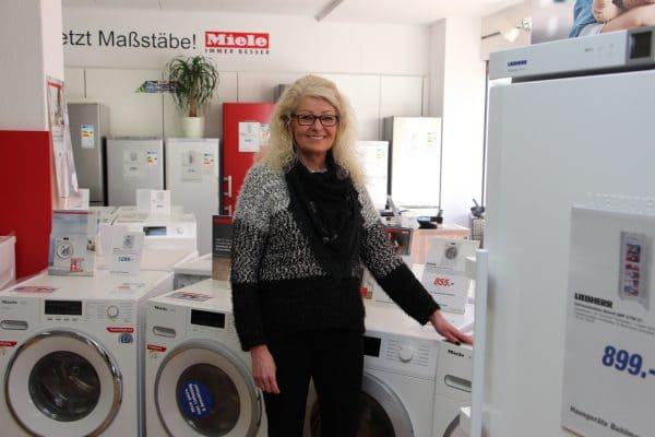 Christa Engelmann ist neu bei Hausgeräte Bahlmann