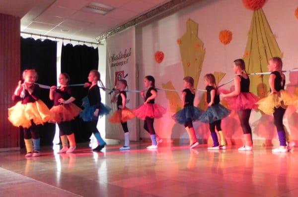 Faszinierende Tanzshow der Tanz- und Ballettgruppen der Musikschule Romberg