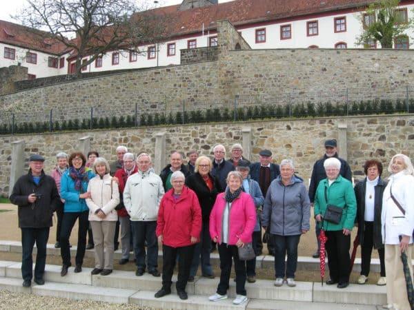 Erste Kulturreise des Jahres führt den Heimatverein Dinklage in das malerische Bad Iburg