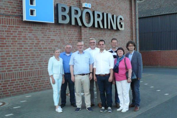 Dinklager SPD zu Besuch bei der Bröring Unternehmensgruppe