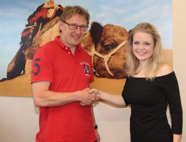 Julia Bockhorst schließt Ausbildung zur Tourismuskauffrau bei Kohorst Reisen erfolgreich ab