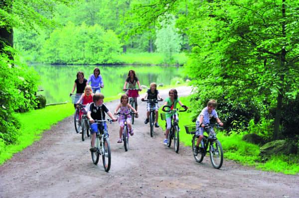 Eine Radtour für die ganze Familie durch die Burgwälder von Lohne und Dinklage