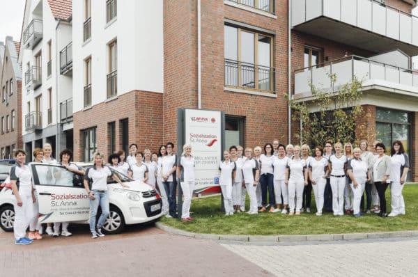 Hausinterner ambulanter Pflegedienst für Bewohner des Wohnparks Alte Weberei an der Langen Straße 40