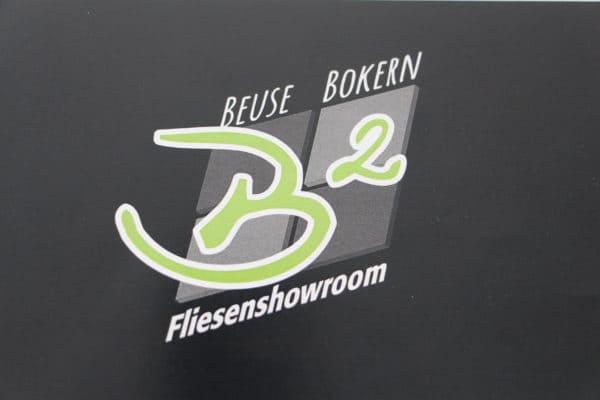 Fliesenlegermeister Stephan Bokern und Mark Beuse eröffnen neuen Showroom am 20. August