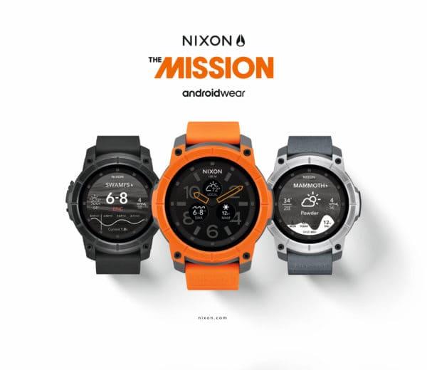 NIXON MISSION – Die weltweit erste Smartwatch für Extremsportler