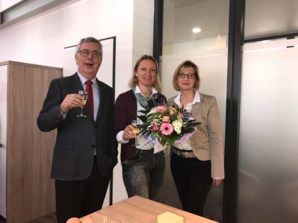 Jubiläum: Catharina Wassmann ist seit zehn Jahren bei Bode und Partner tätig