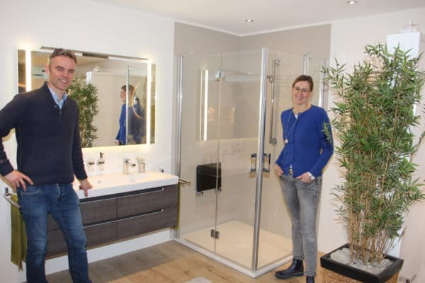 Modernisierung der Sanitärausstellung bei der Karl Tepe GmbH ist abgeschlossen
