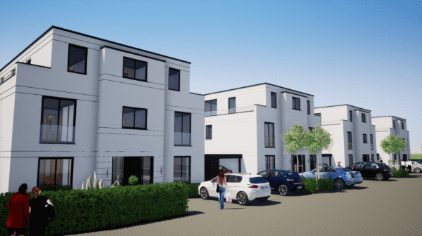 Geplant von mb Architektur – Neue Stadtvillen in Vechta