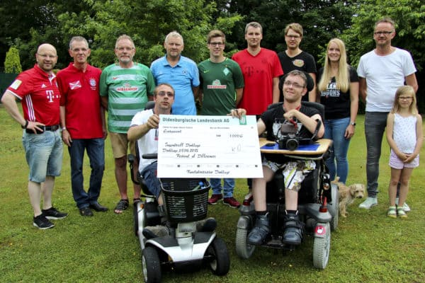 Dinklager Fanclubinitiative spendet 1000 Euro an Festival of Differences