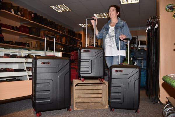 Neue Kofferserie VECTOR von Travelite bei Leder Ahrling